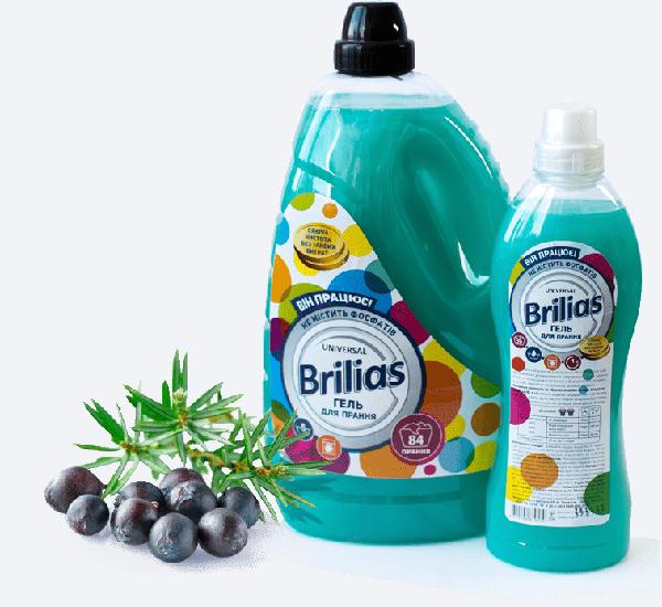 засоби прання Brilias